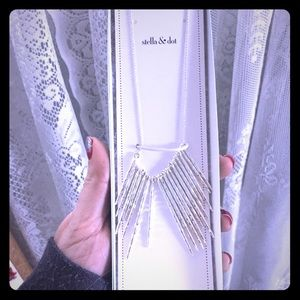 Stella & Dot Kari Fringe Necklace